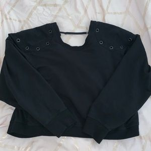 Alexander Wang Backless Sweater